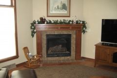 Livingroom Gas Fireplace
