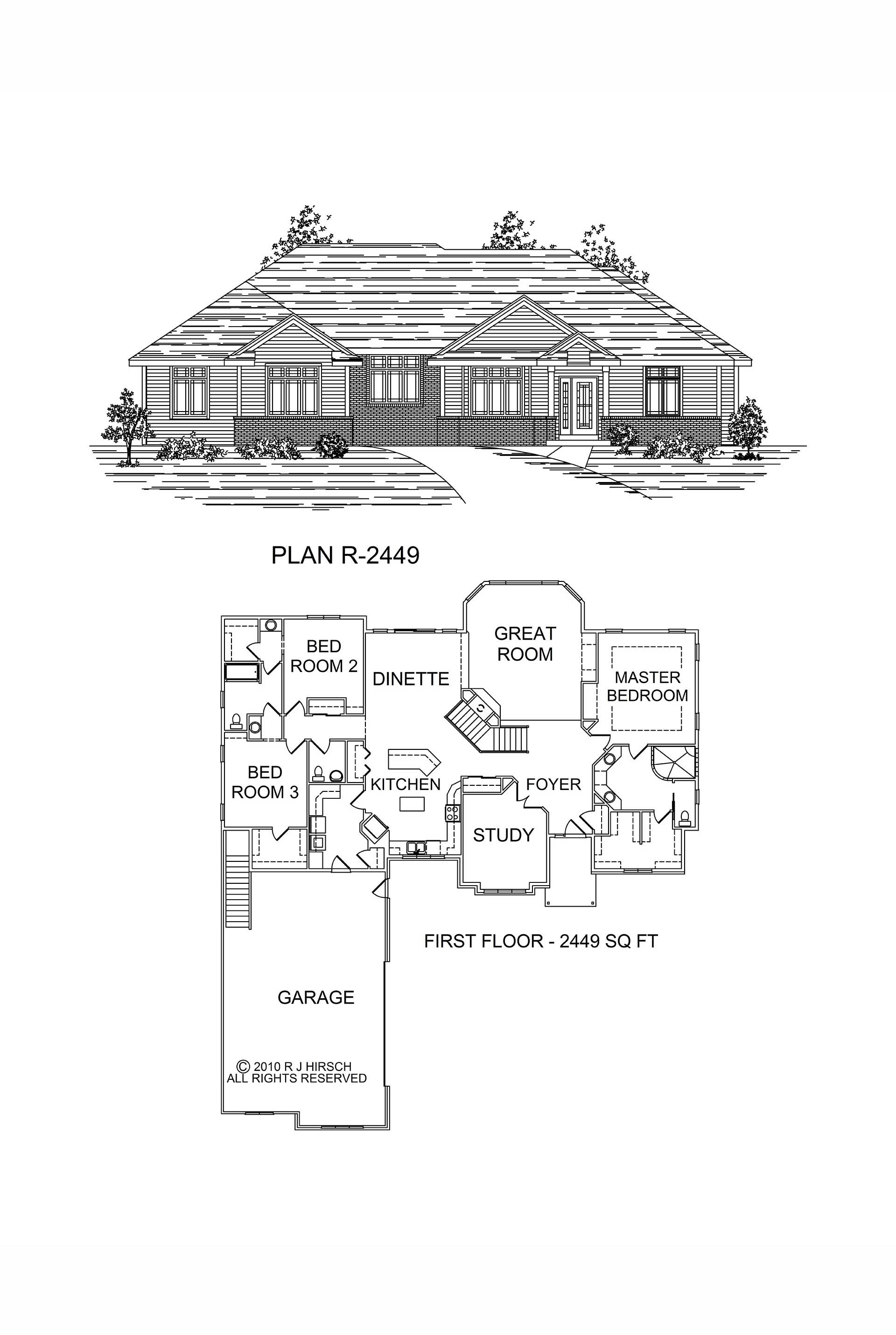ranch plans - Design Homes Wi